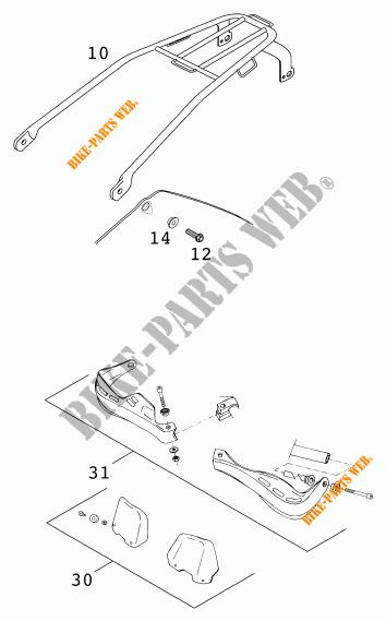 grande sconto prestazioni superiori bene fuori x ACCESSORI 250 EXC EXC 2001 250 KTM Ktm motocicli # KTM ...